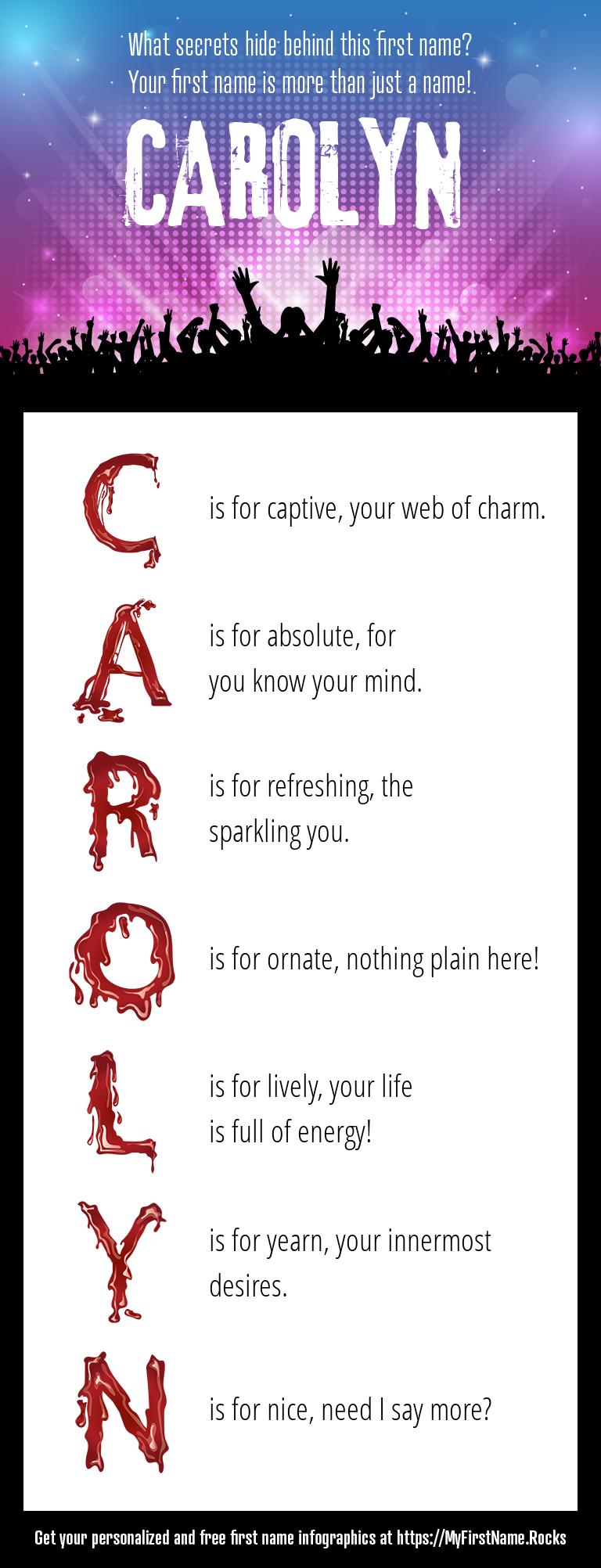 Carolyn Infographics