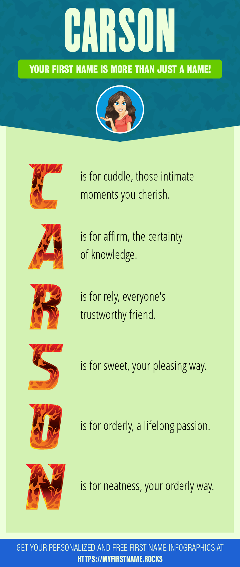 Carson Infographics