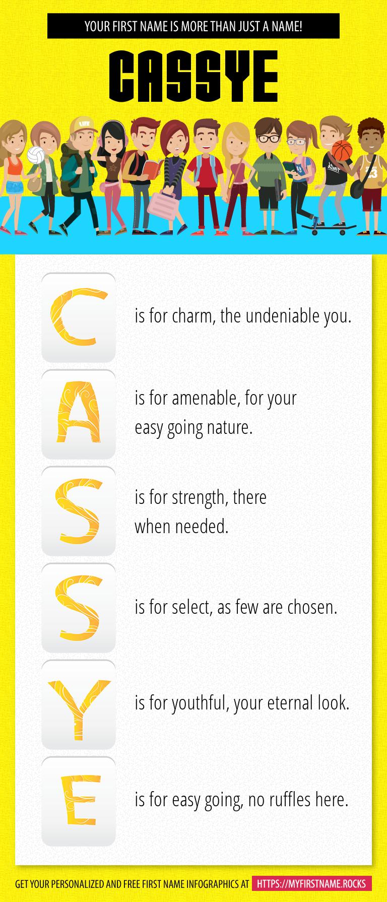 Cassye Infographics