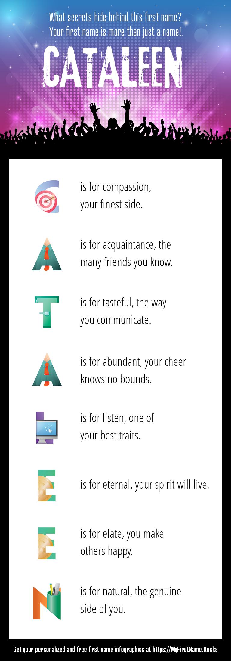 Cataleen Infographics