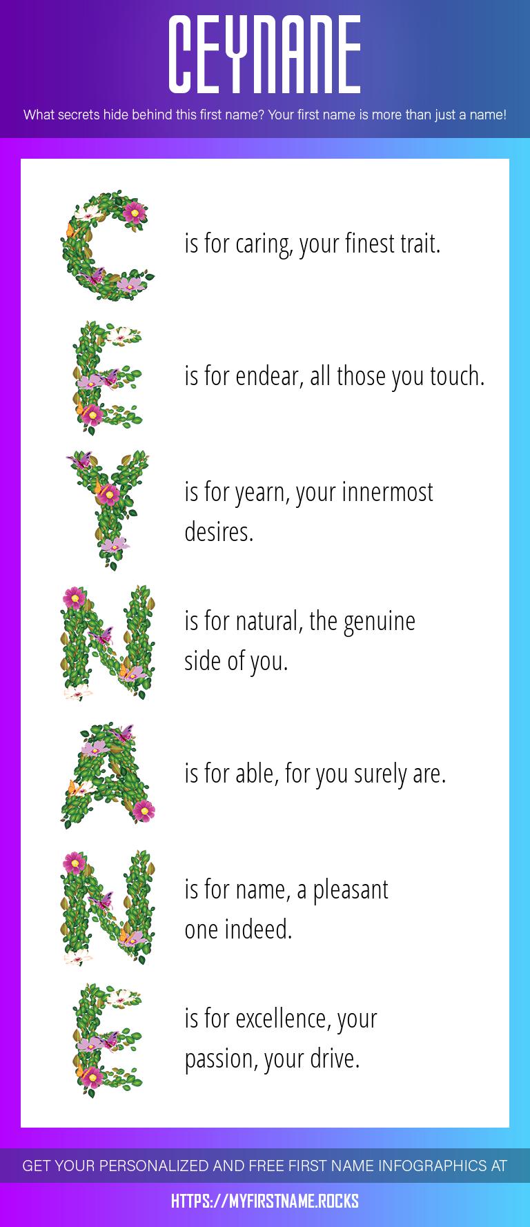 Ceynane Infographics