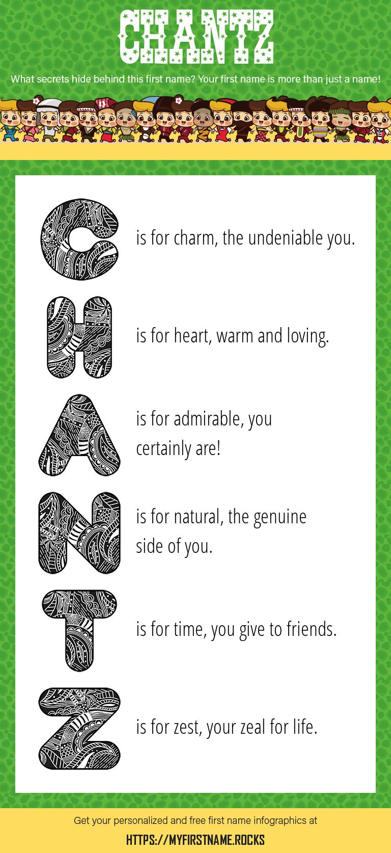 Chantz Infographics
