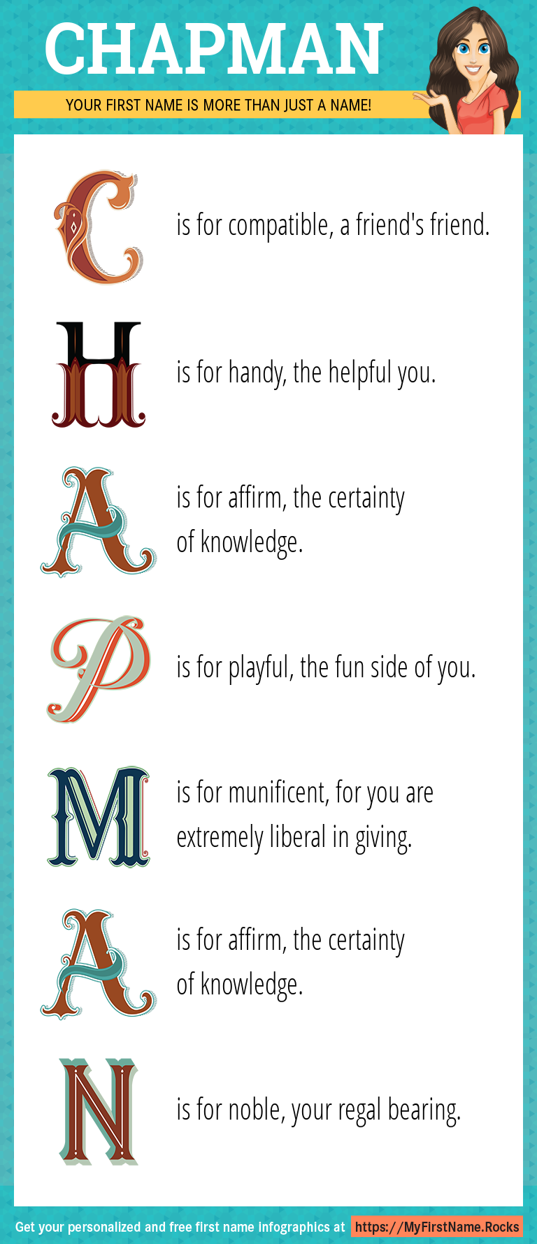 Chapman Infographics