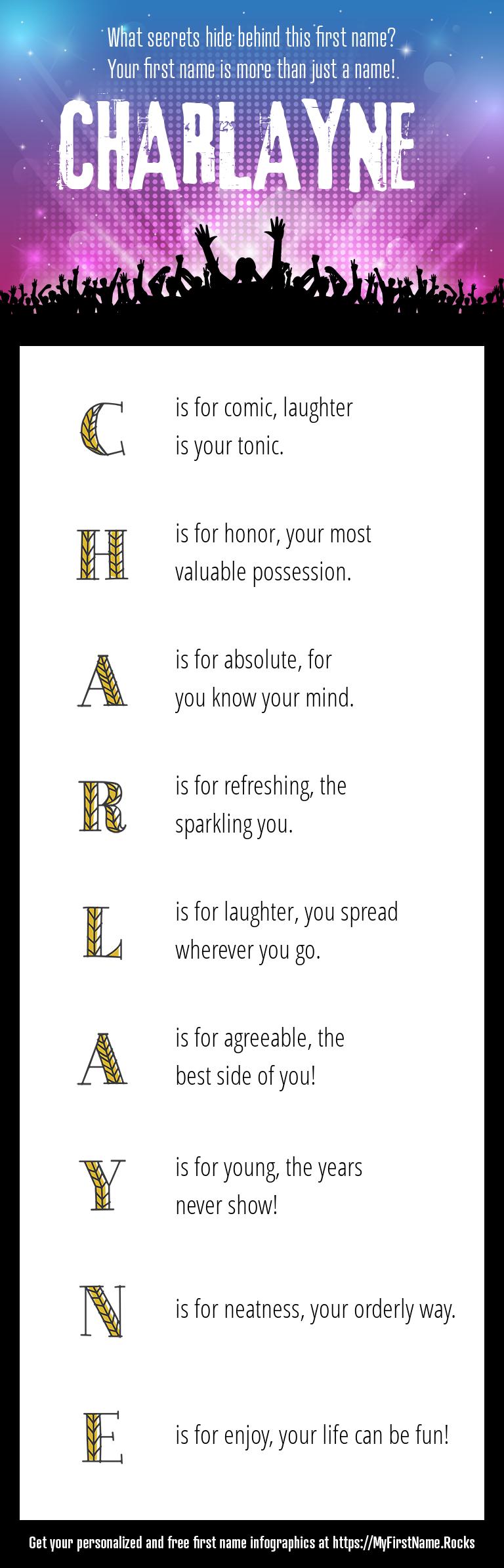 Charlayne Infographics