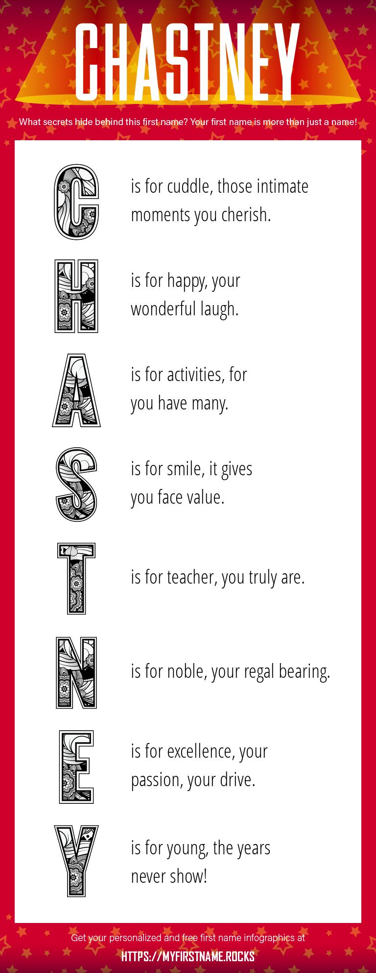Chastney Infographics