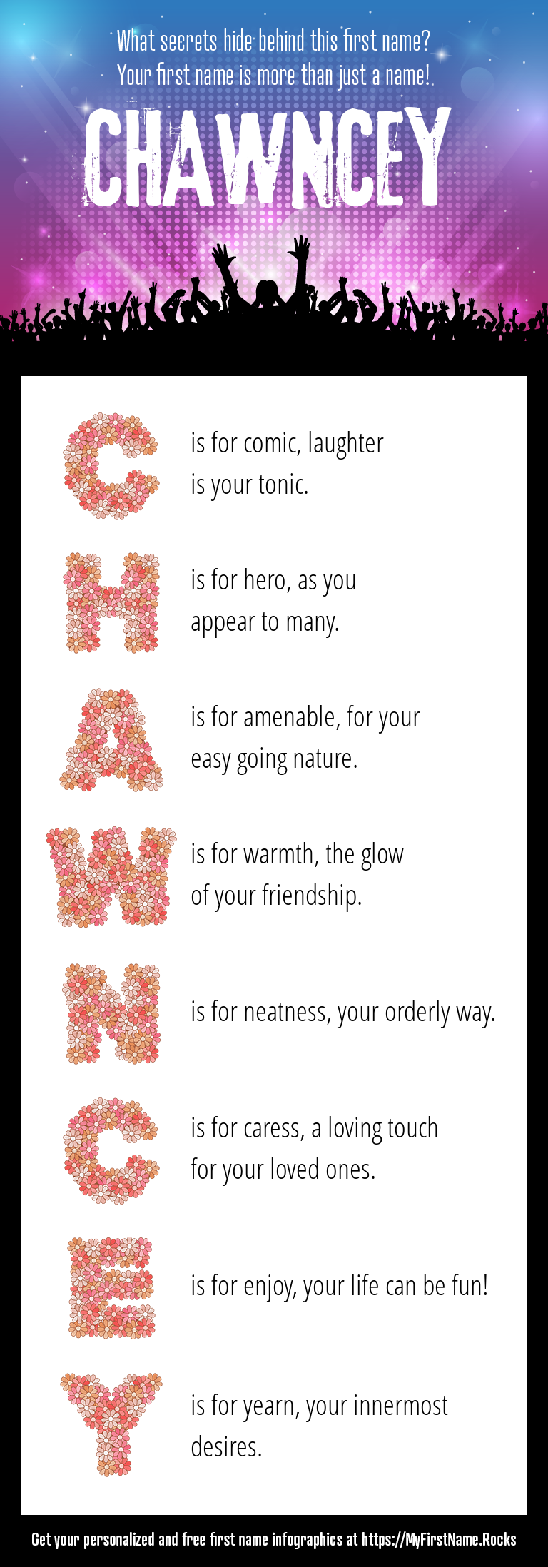 Chawncey Infographics