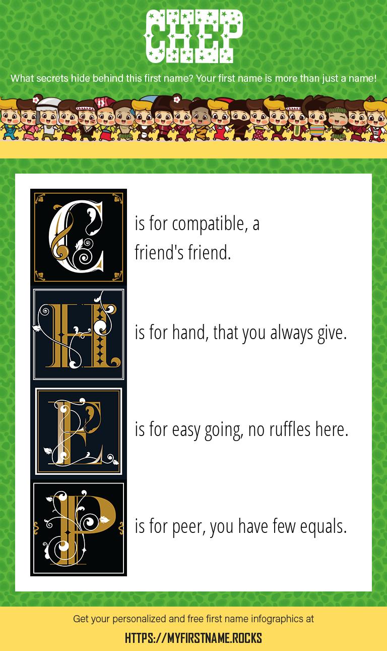 Chep Infographics