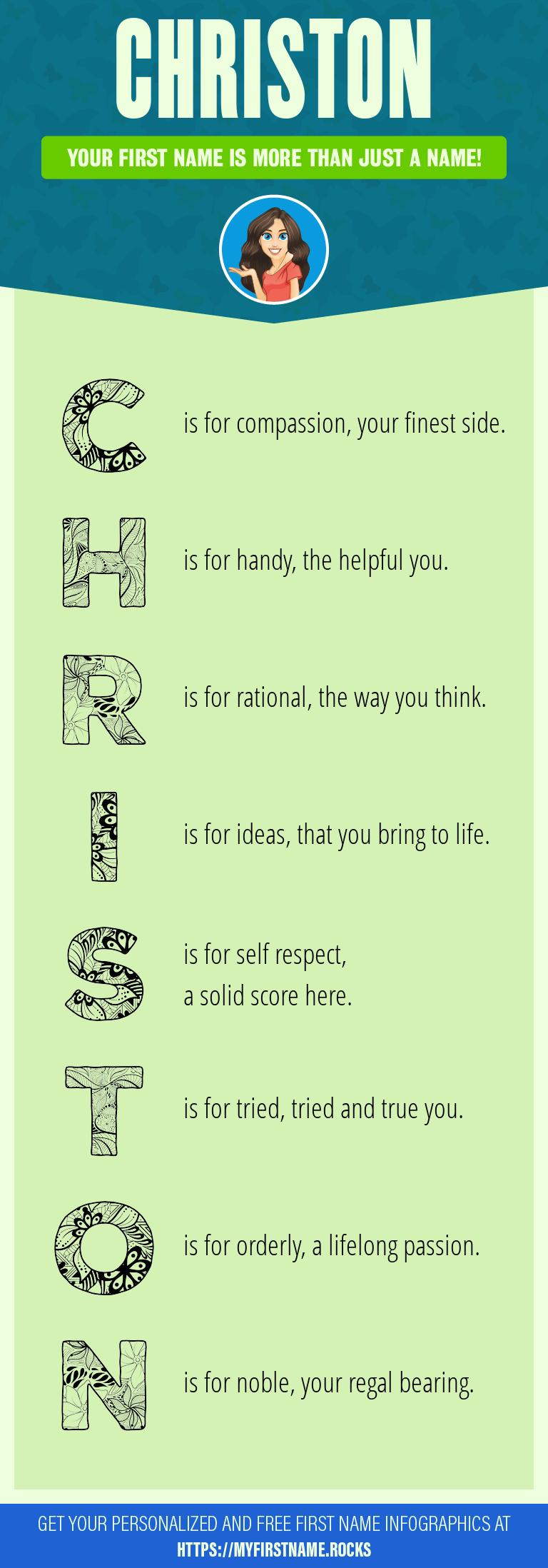 Christon Infographics