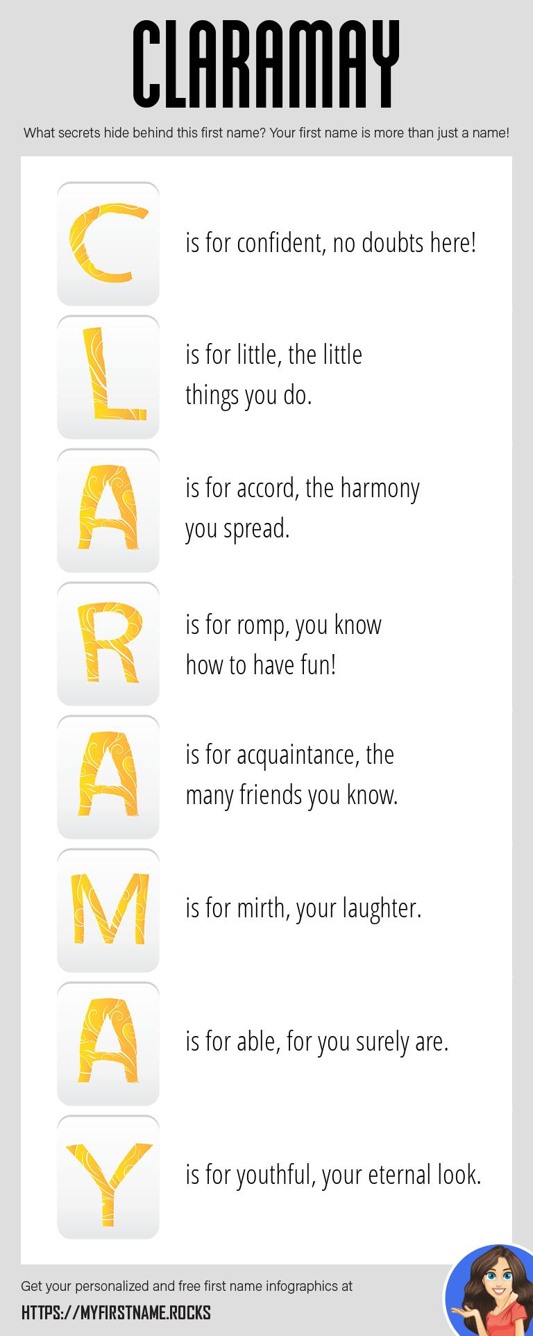 Claramay Infographics