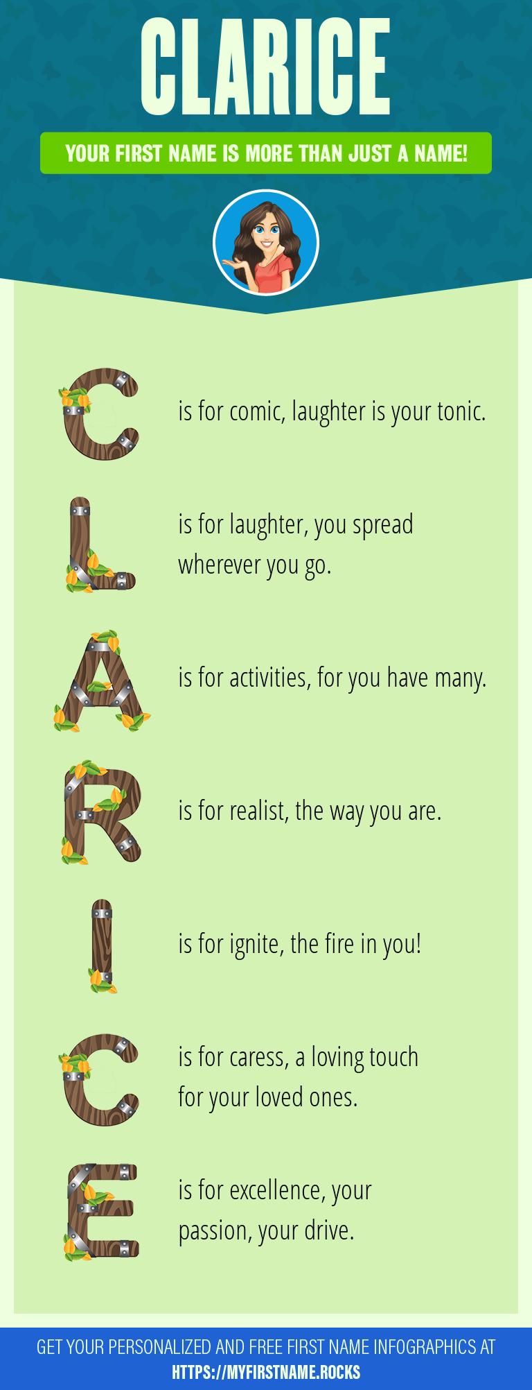Clarice Infographics