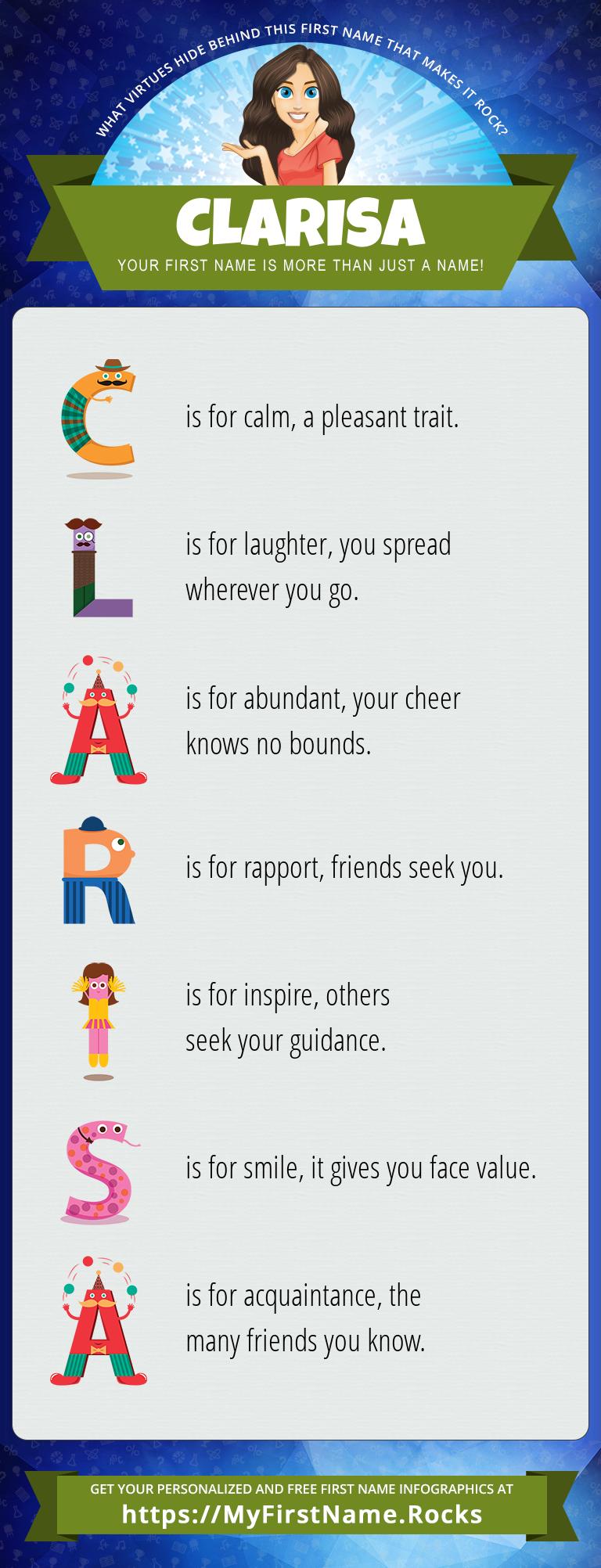 Clarisa Infographics
