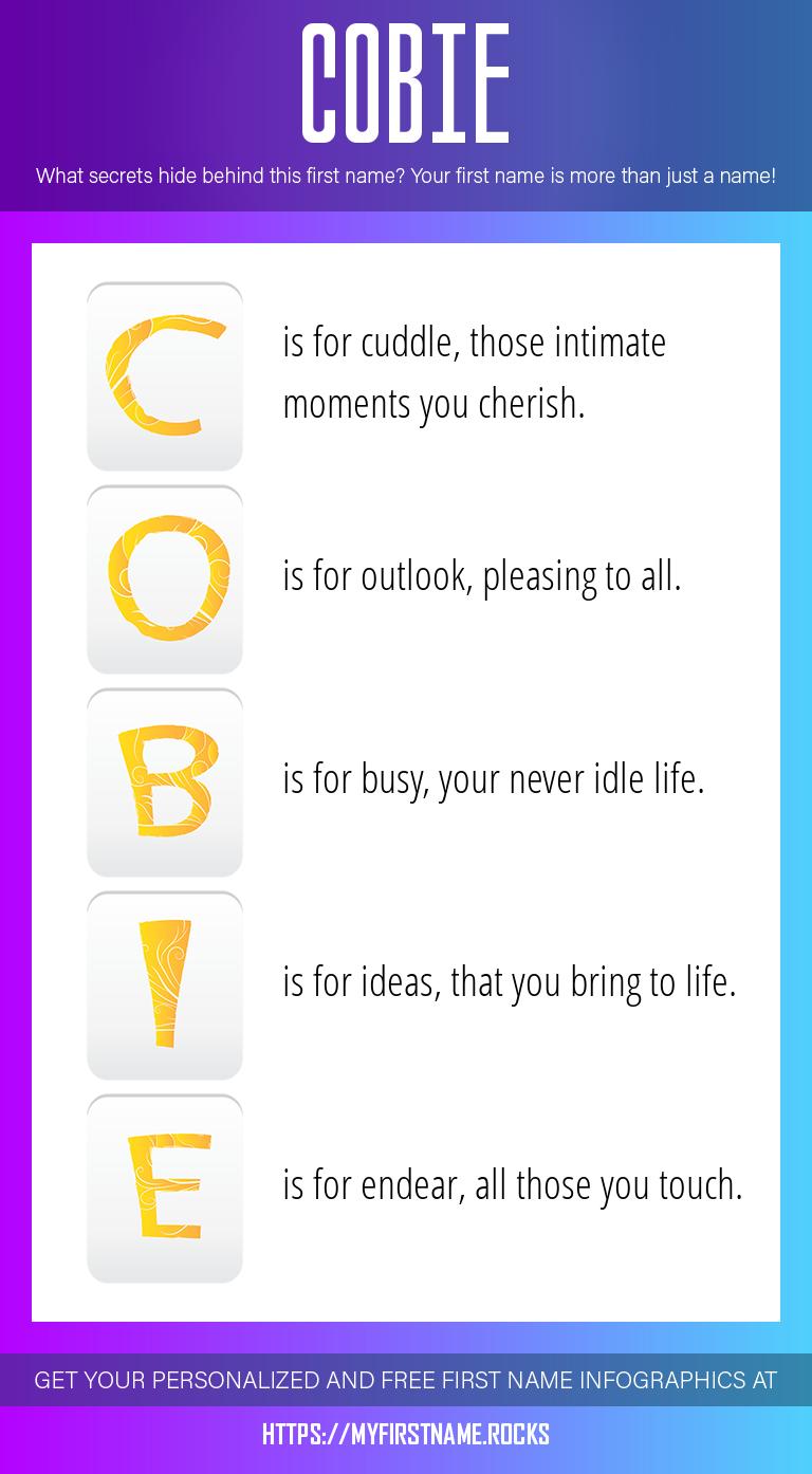 Cobie Infographics