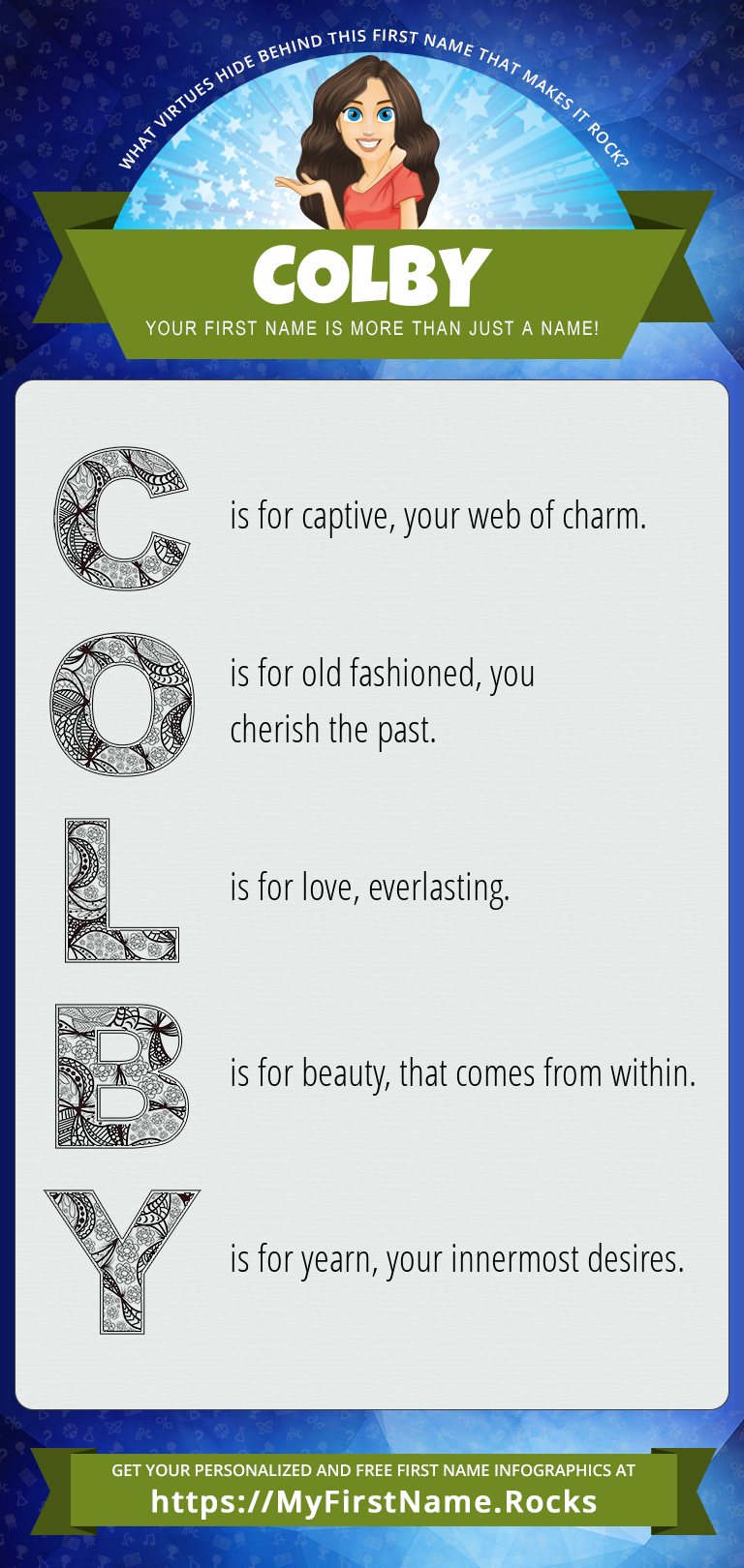 Colby Infographics