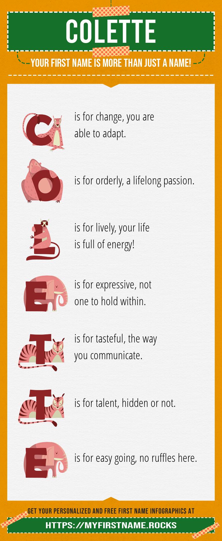 Colette Infographics