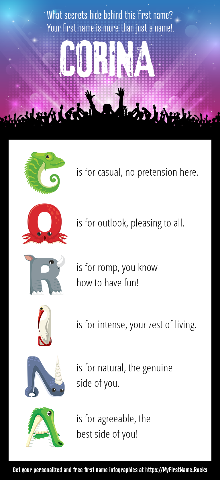 Corina Infographics