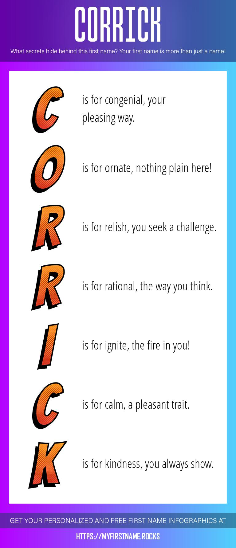 Corrick Infographics