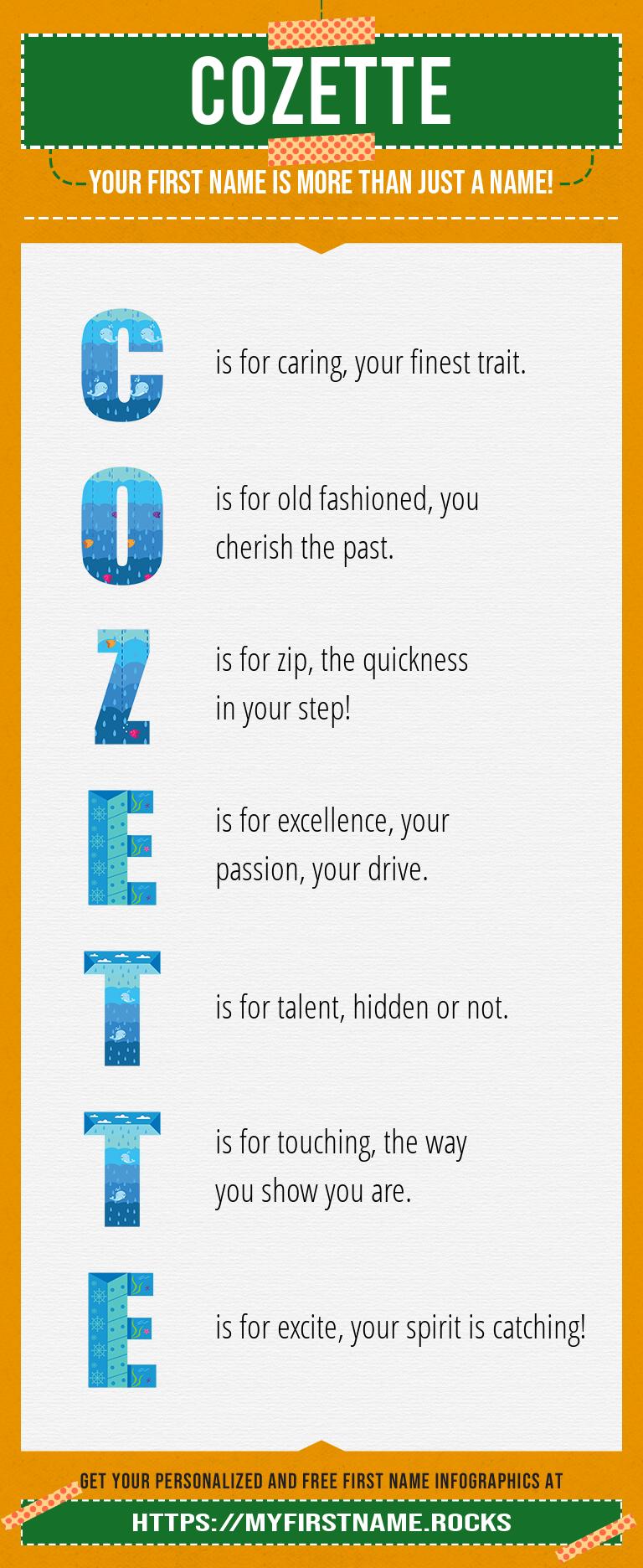 Cozette Infographics