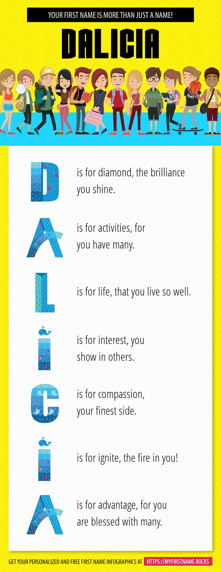 Dalicia Infographics