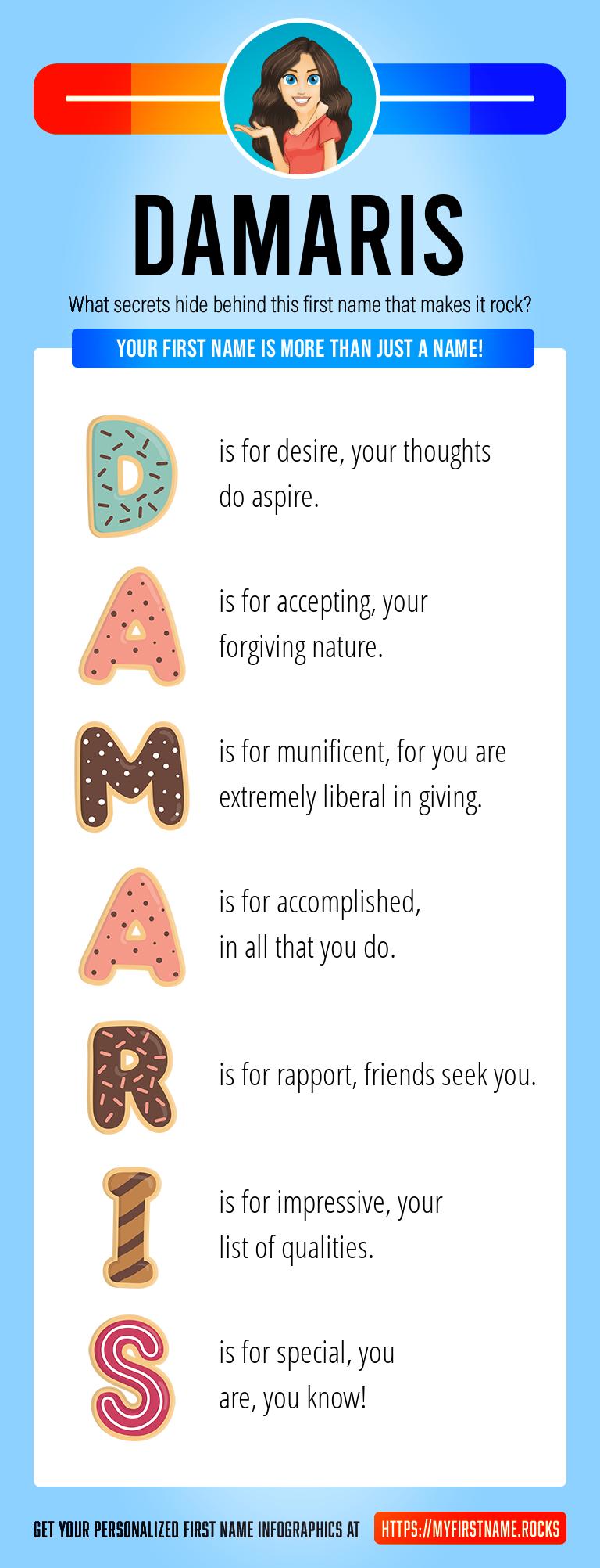 Damaris Infographics