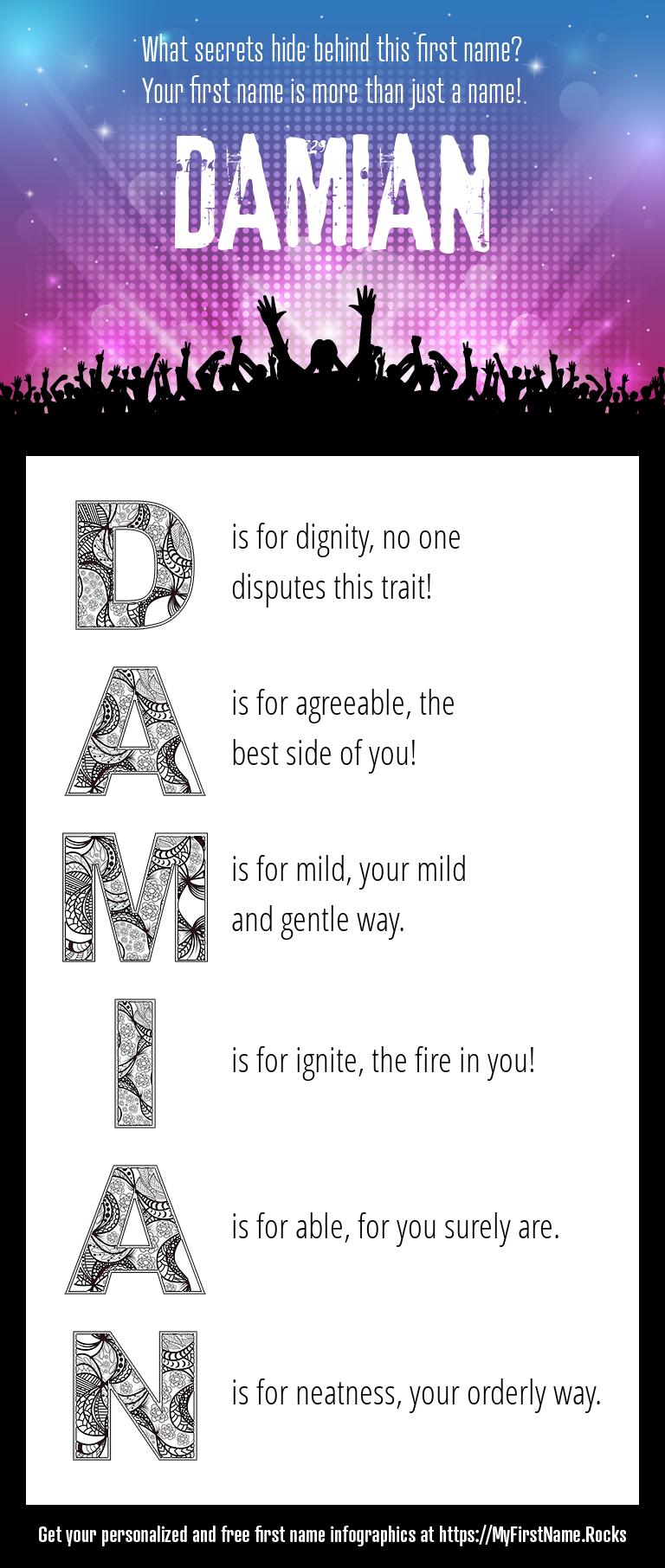 Damian Infographics