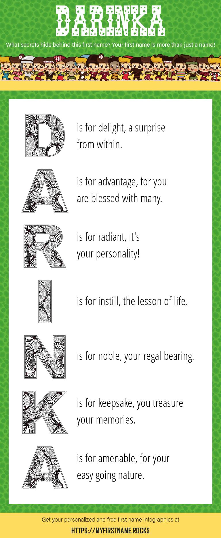 Darinka Infographics