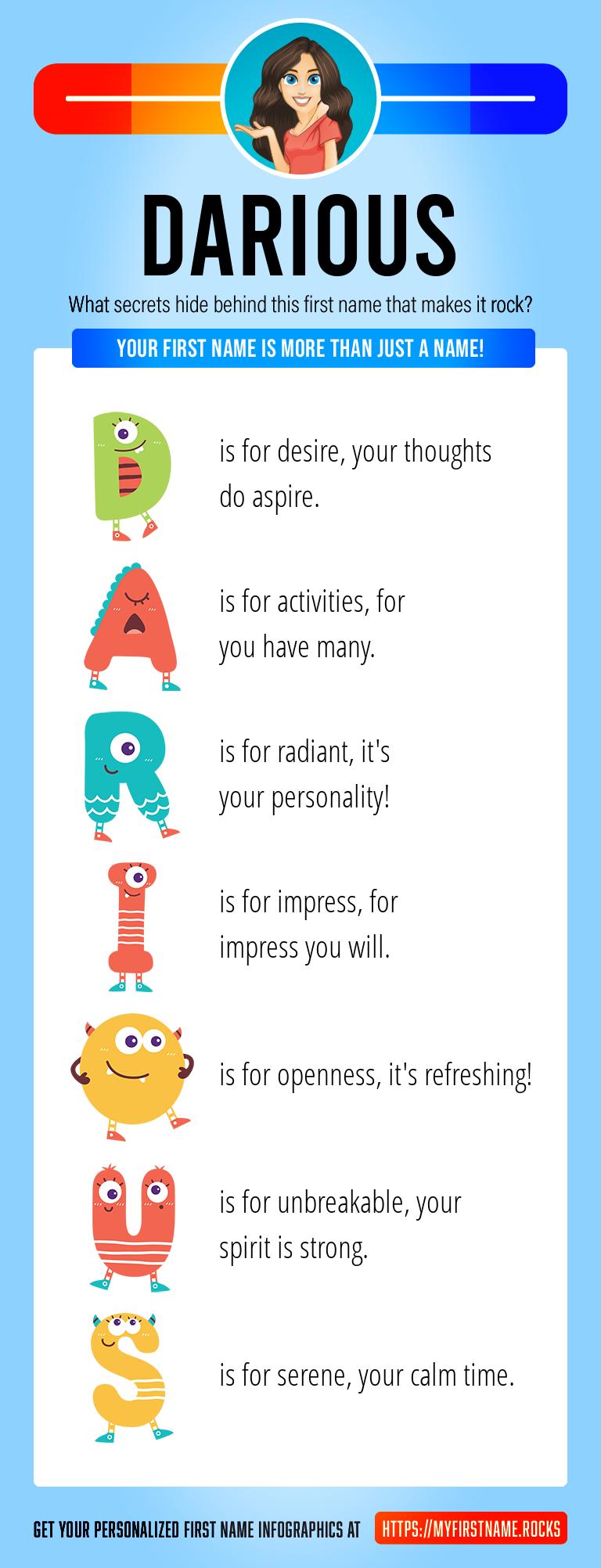 Darious Infographics