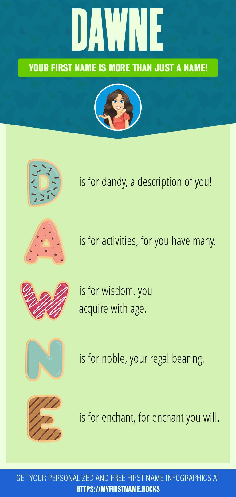 Dawne Infographics