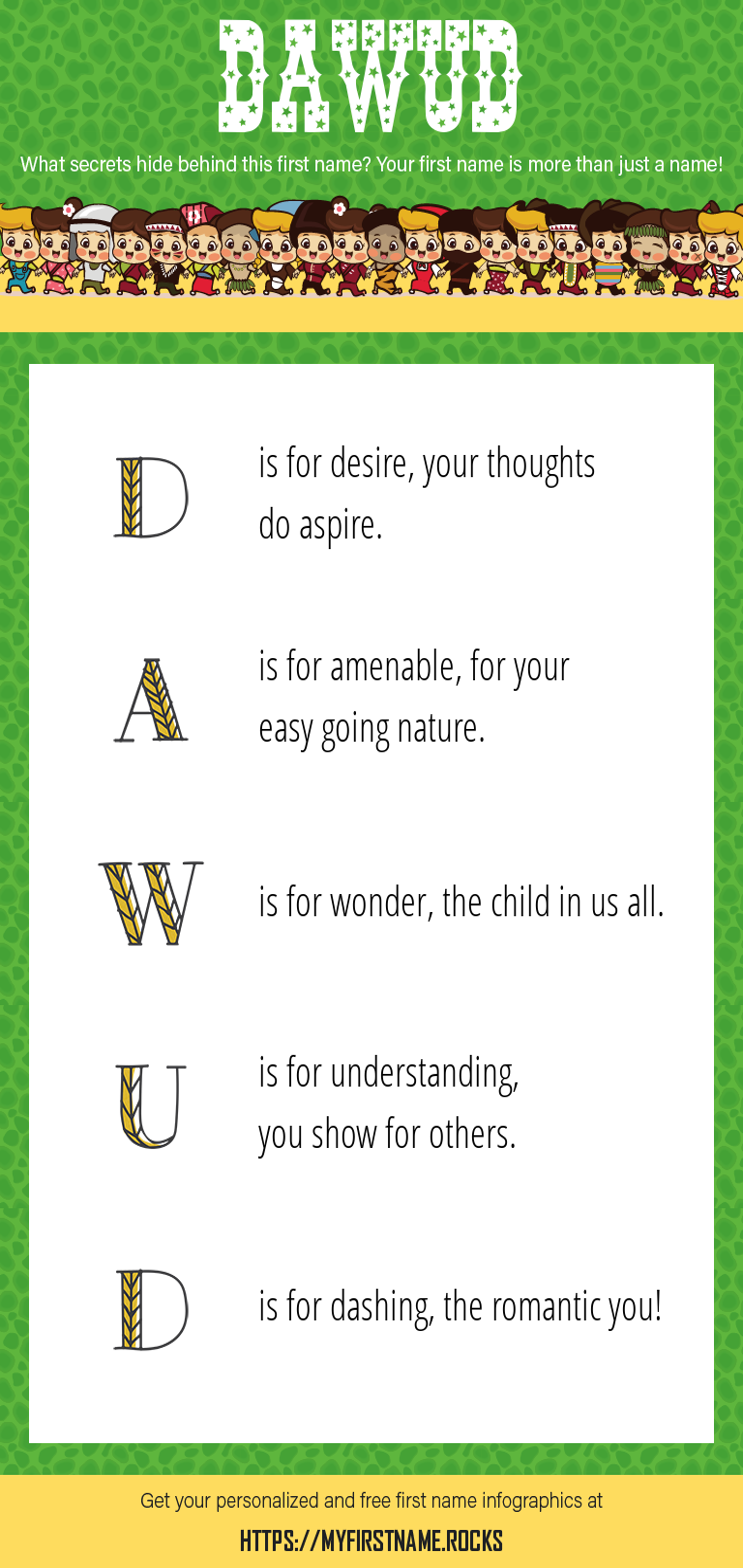 Dawud Infographics