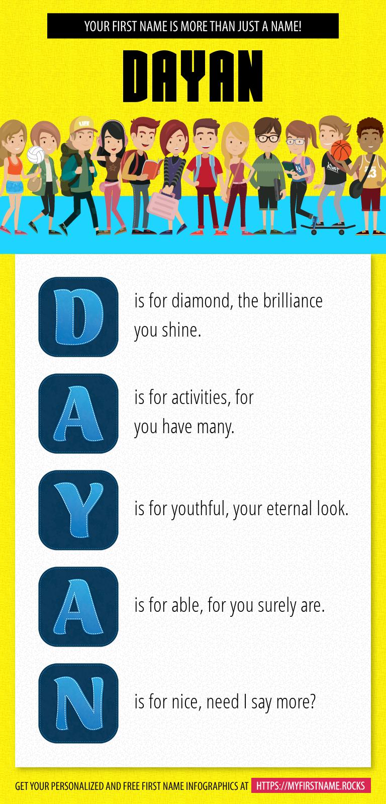 Dayan Infographics