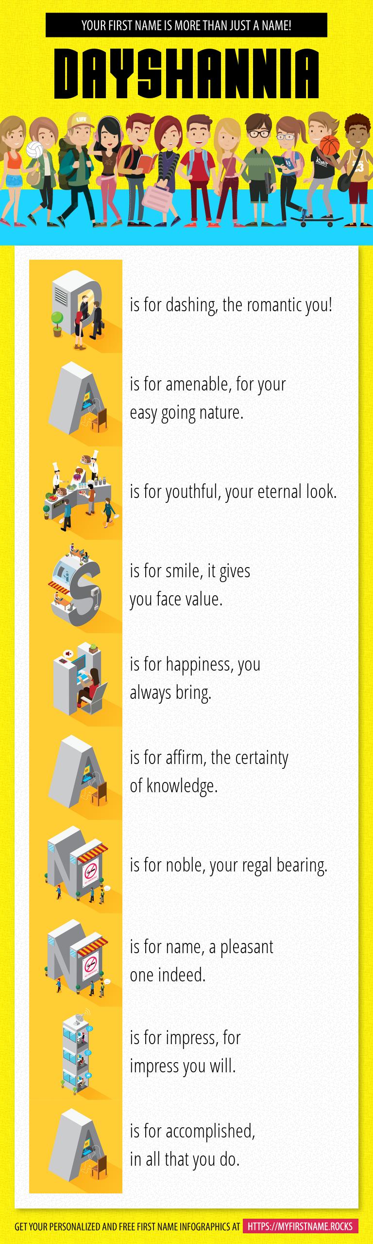 Dayshannia Infographics