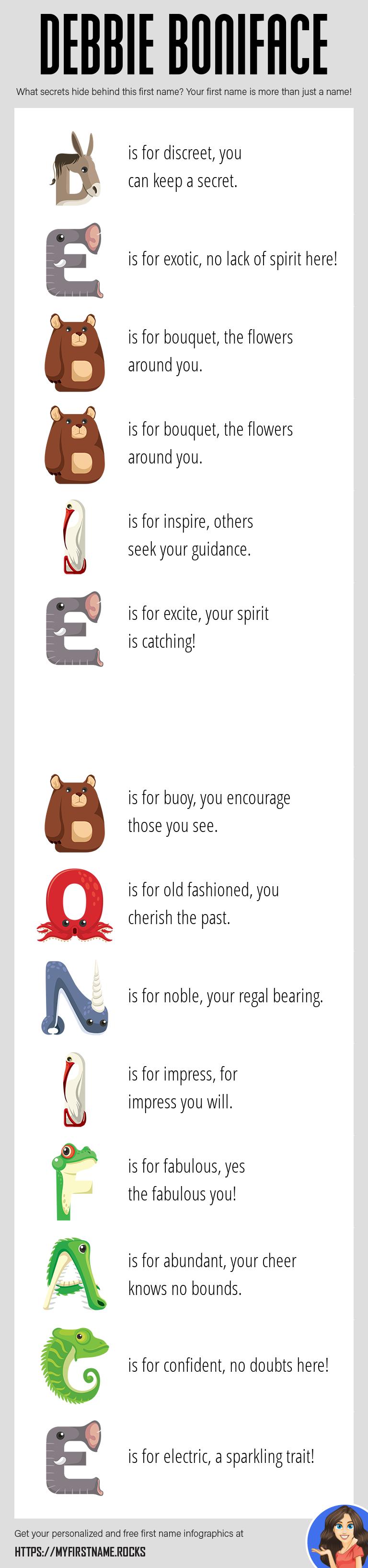 Debbie Boniface Infographics