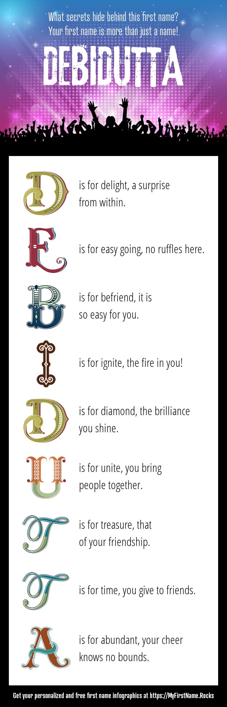 Debidutta Infographics