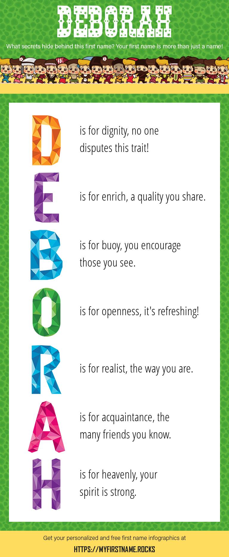 Deborah Infographics