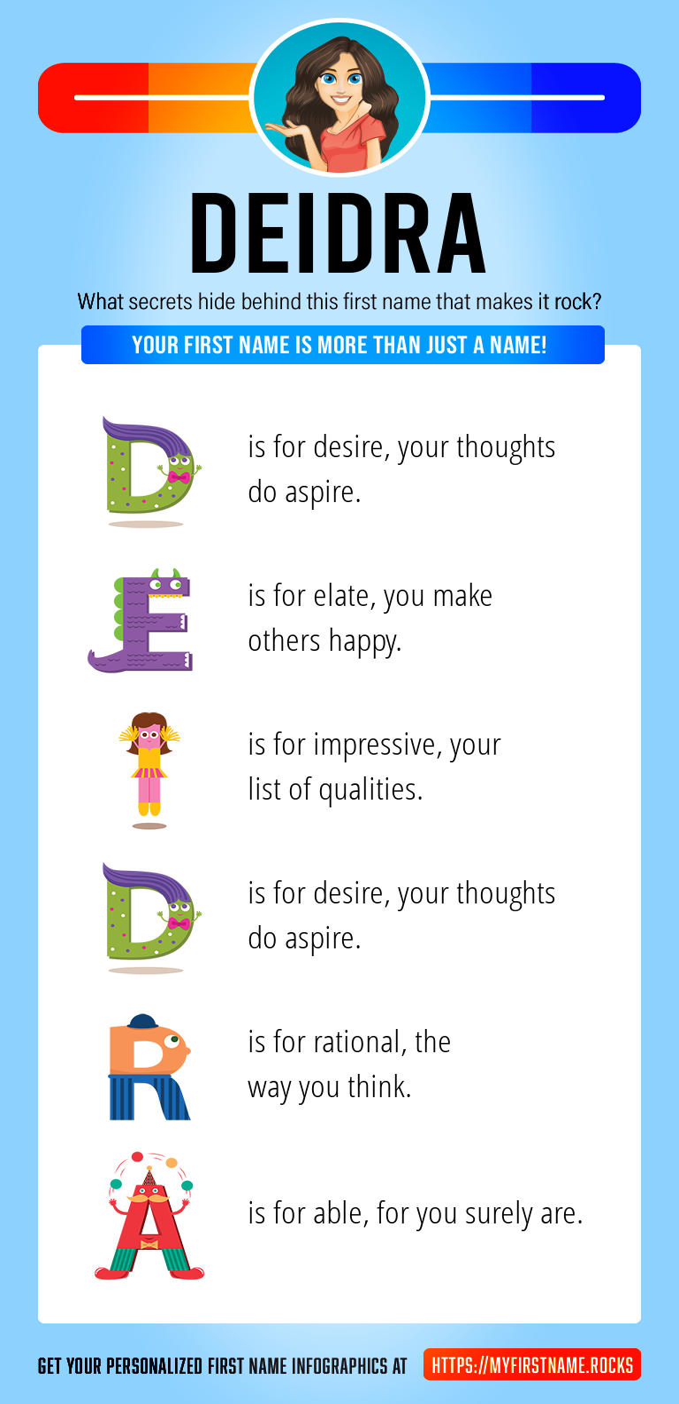 Deidra Infographics