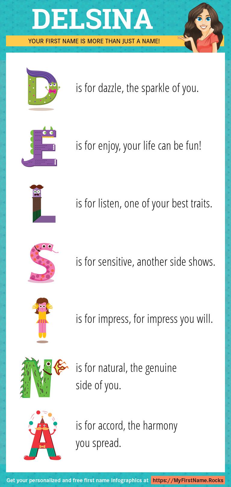 Delsina Infographics