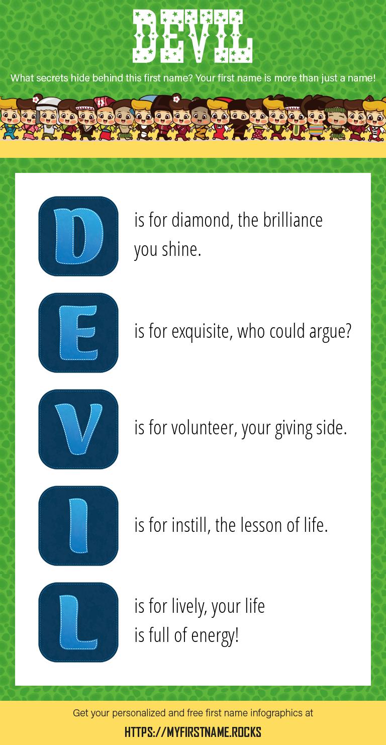 Devil Infographics