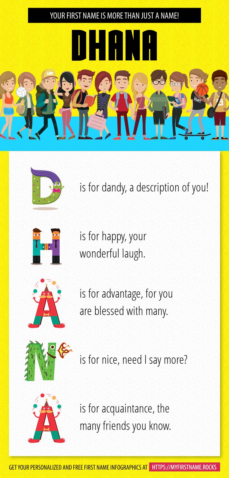 Dhana Infographics
