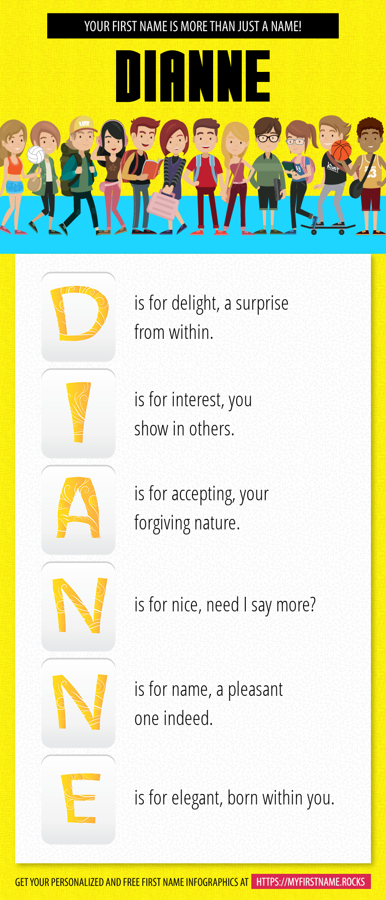 Dianne Infographics