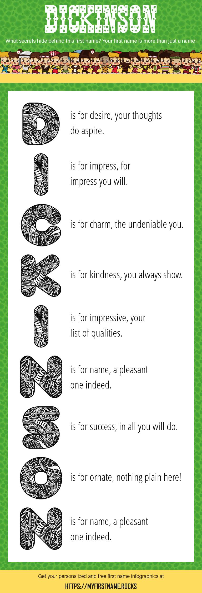 Dickinson Infographics