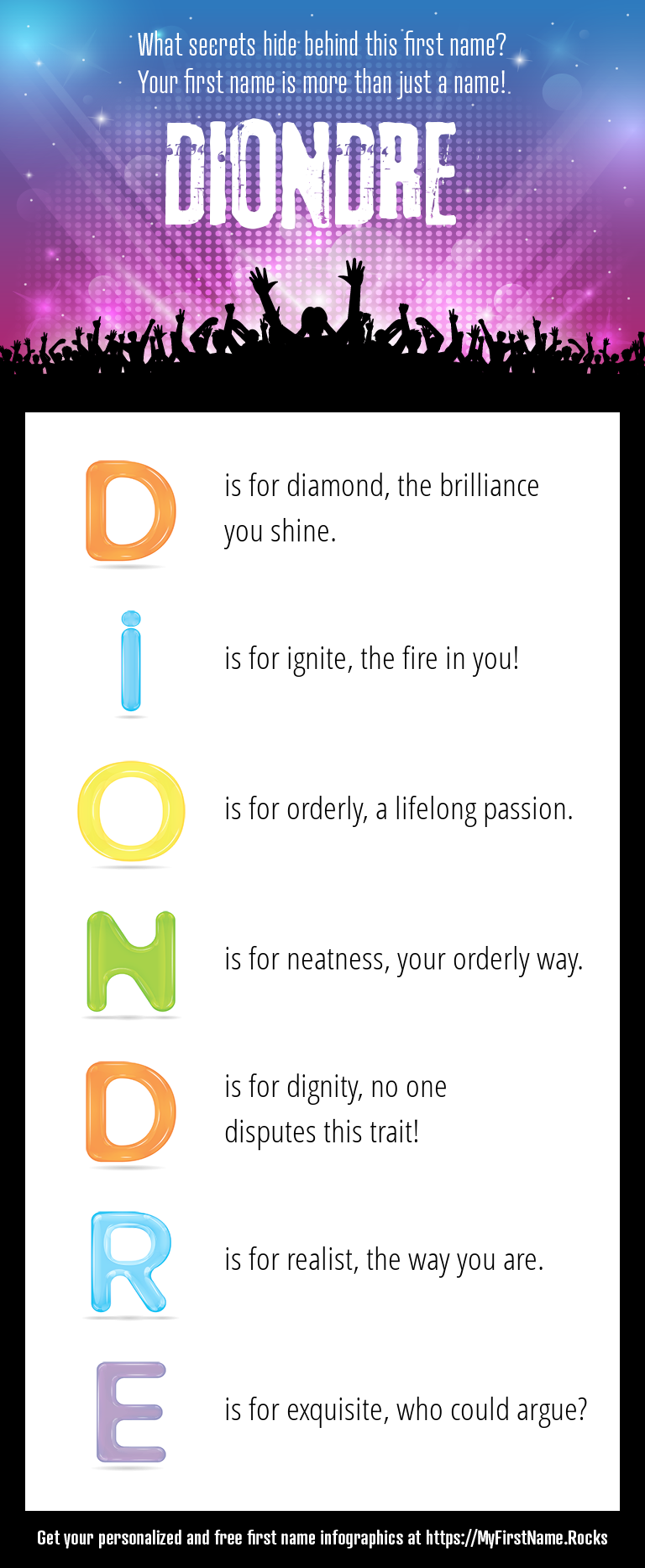 Diondre Infographics