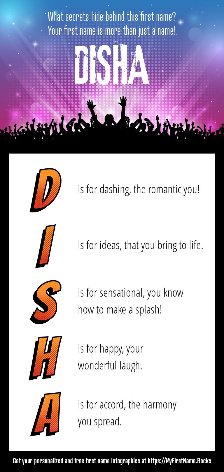 Disha Infographics