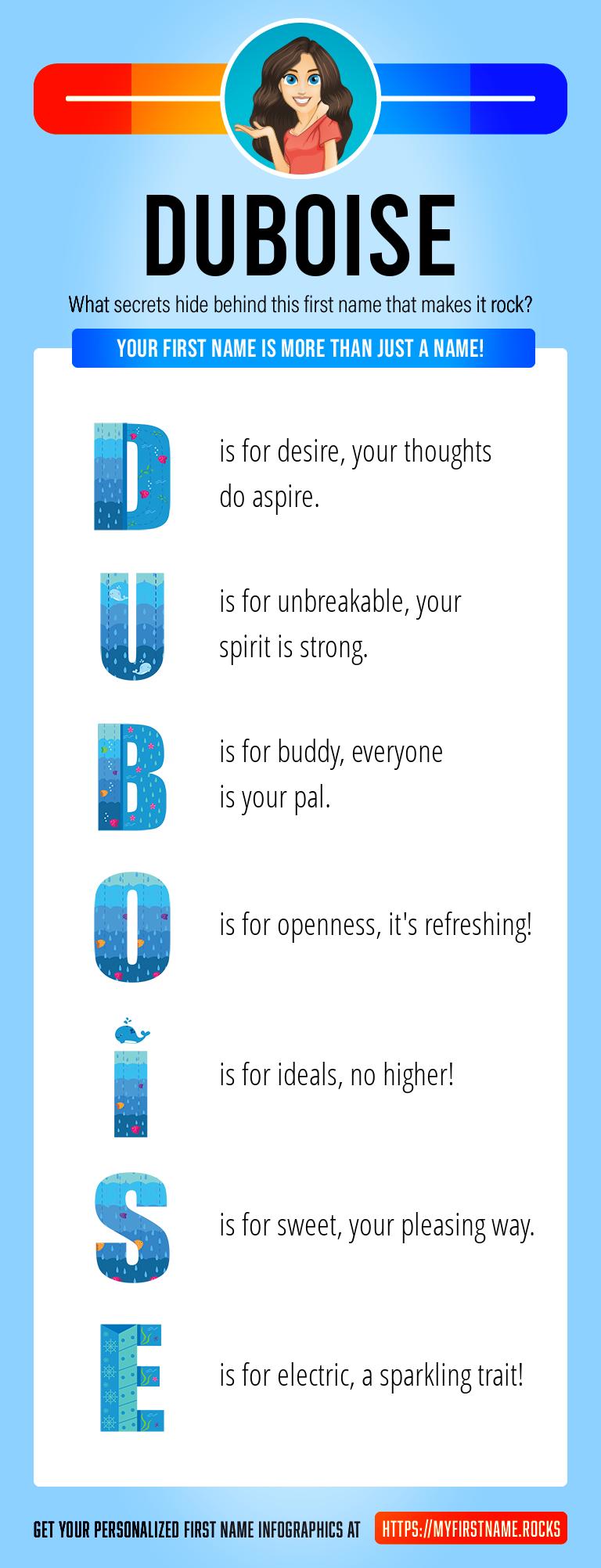 Duboise Infographics