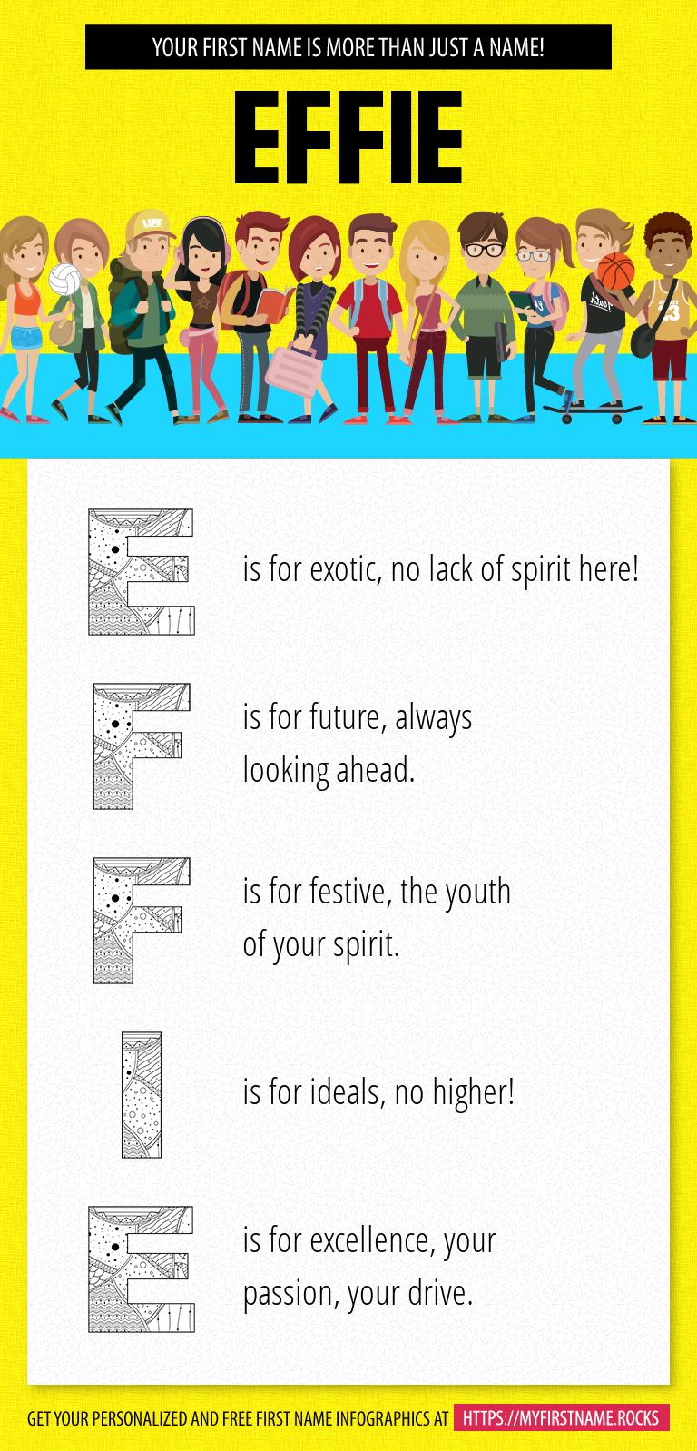 Effie Infographics