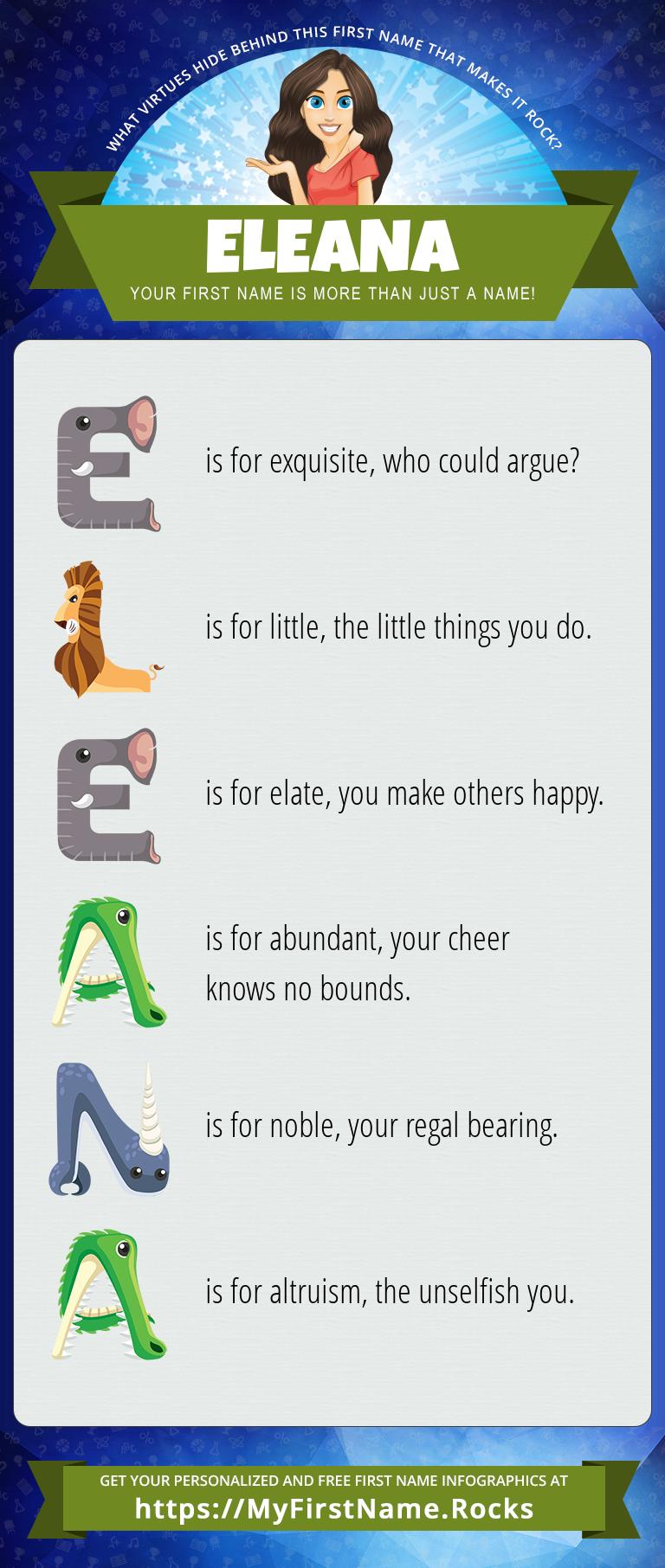 Eleana Infographics