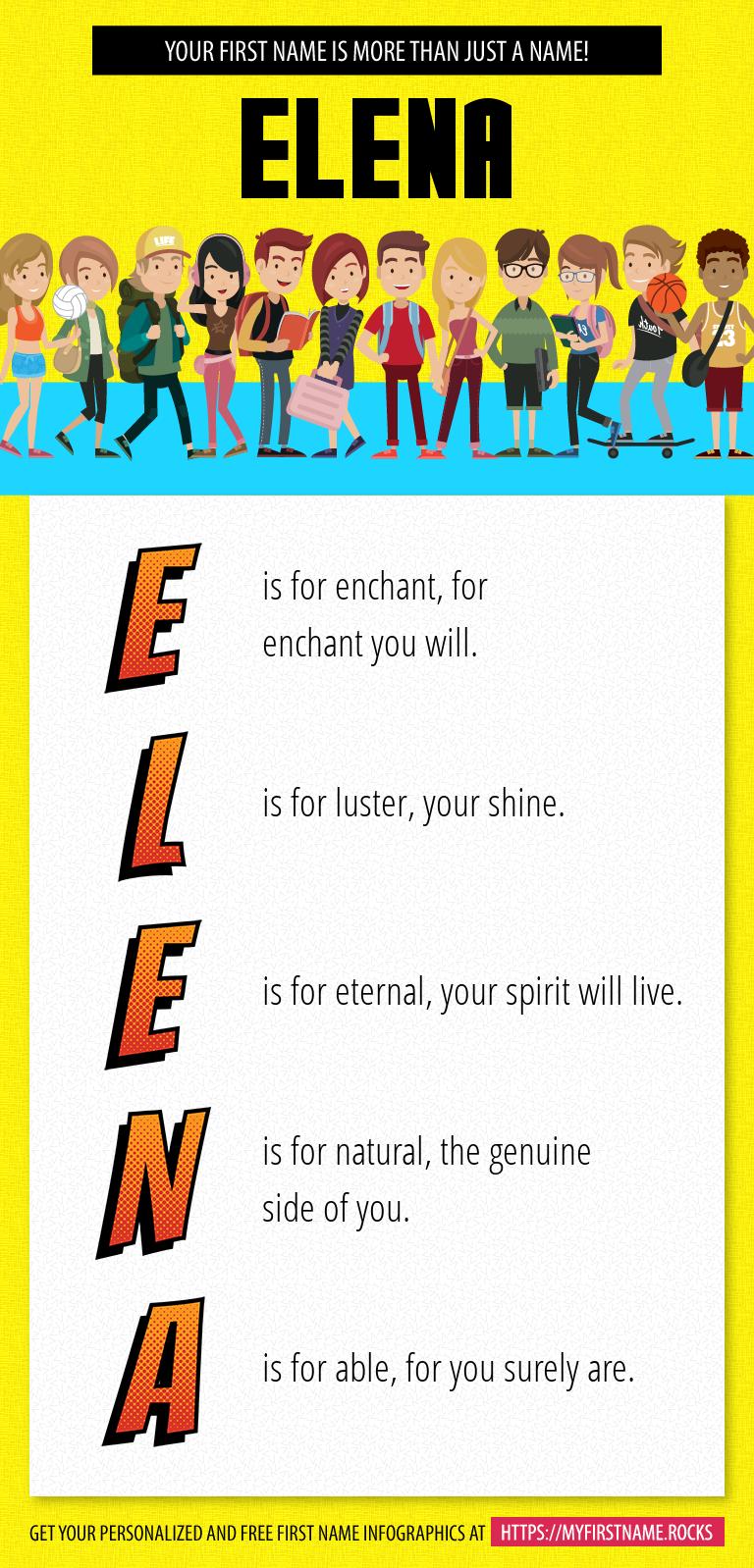 Elena Infographics