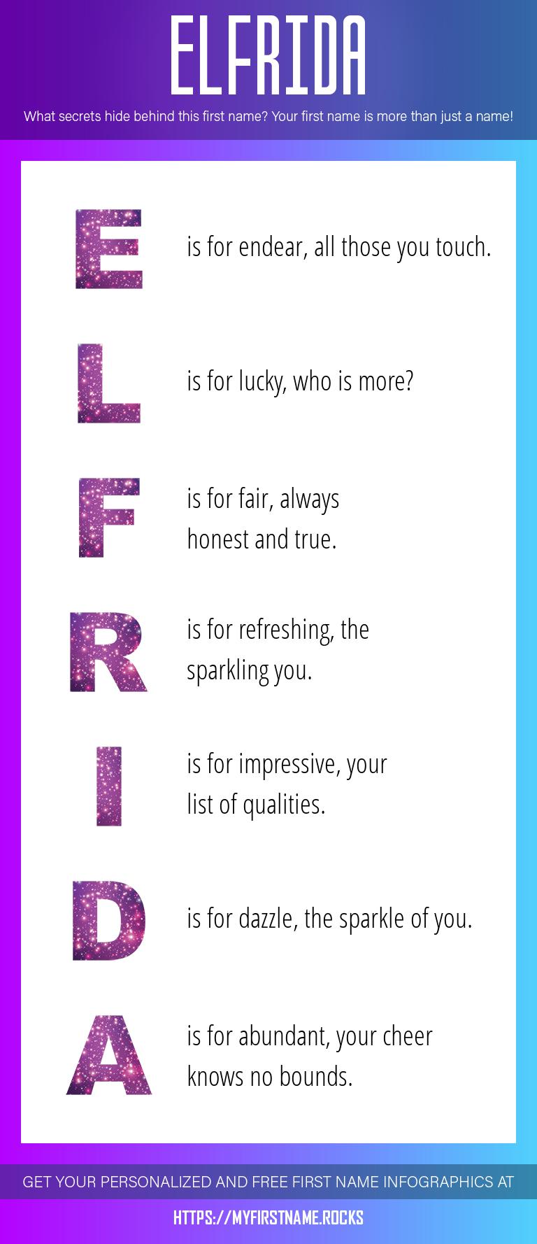 Elfrida Infographics