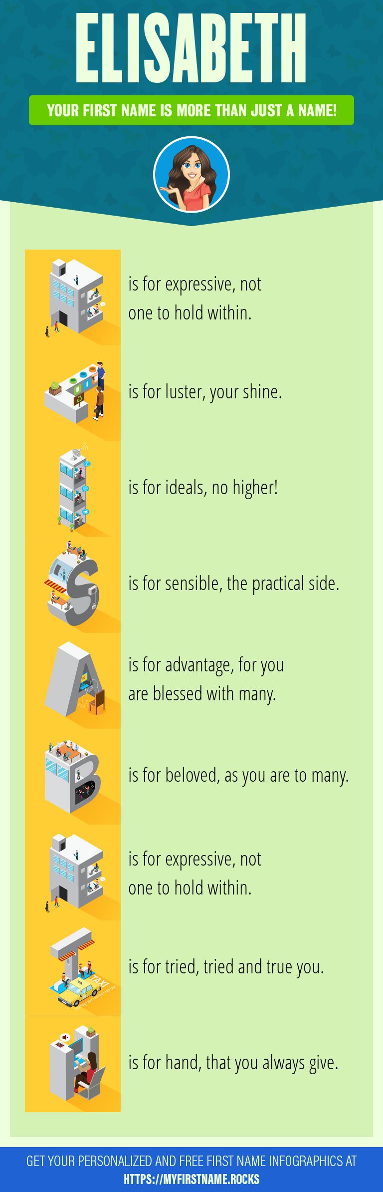 Elisabeth Infographics