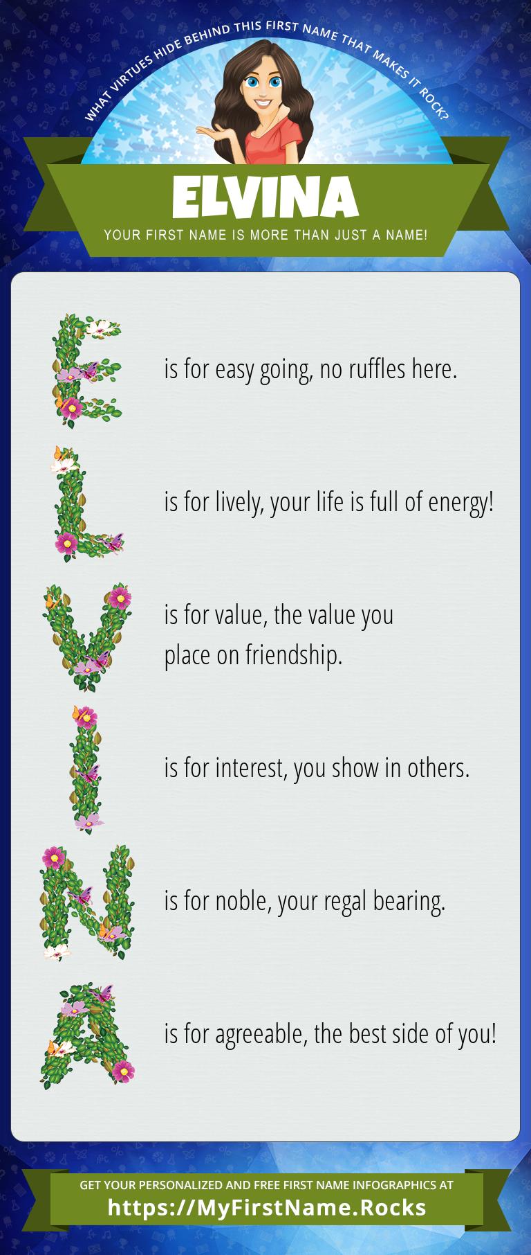 Elvina Infographics