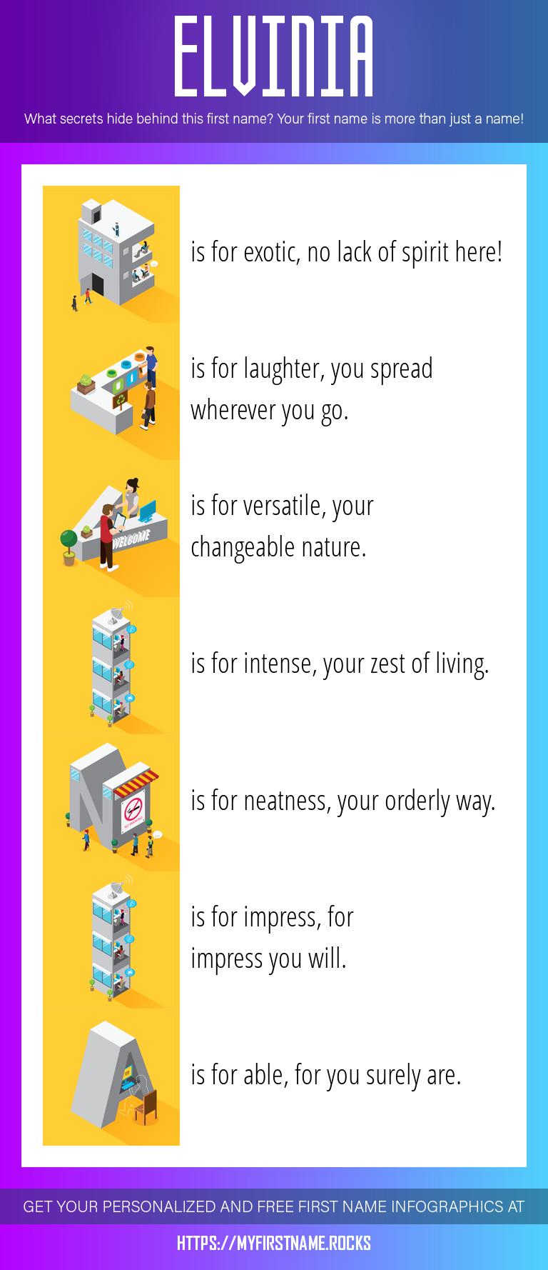 Elvinia Infographics
