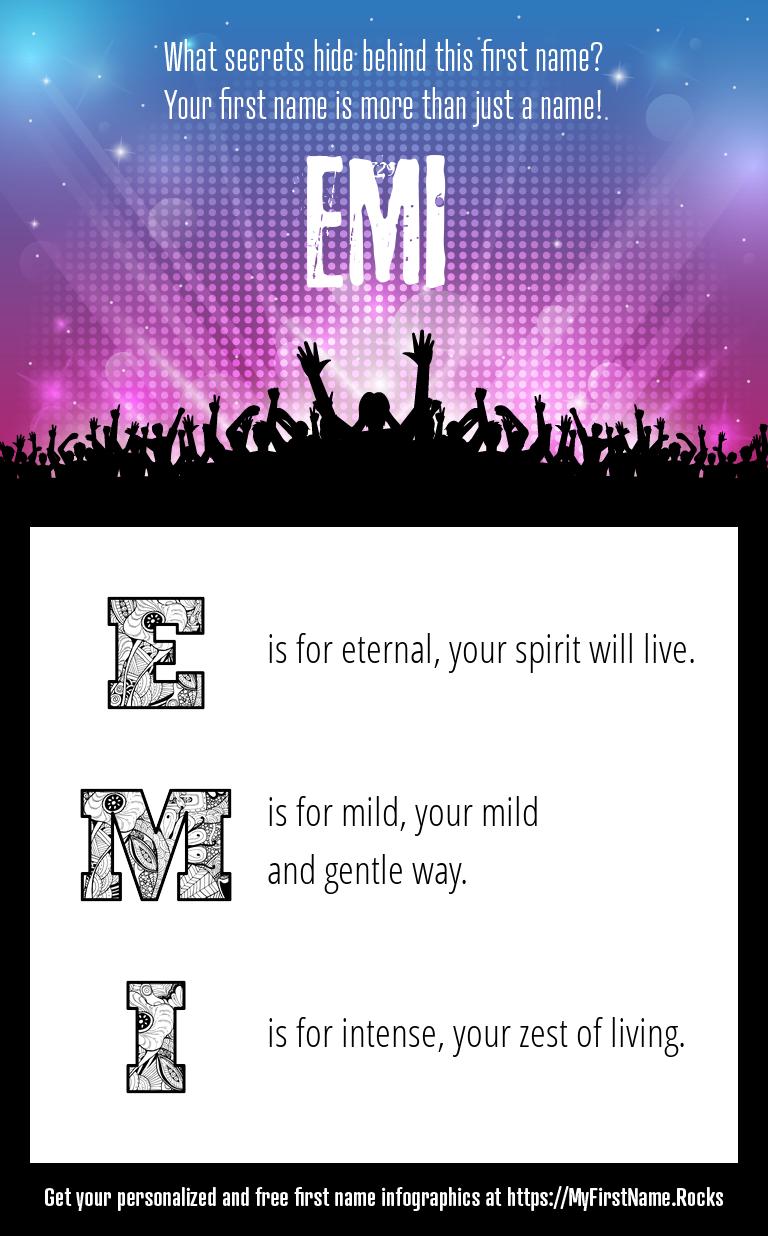 Emi Infographics